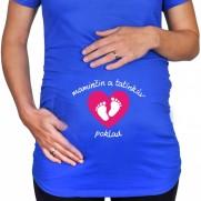 Těhotenské tričko Malý poklad