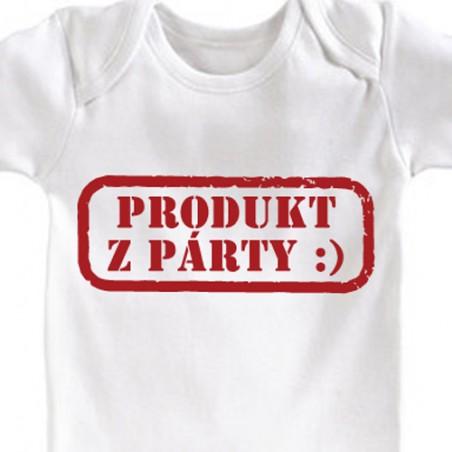 Dětské body Produkt z párty