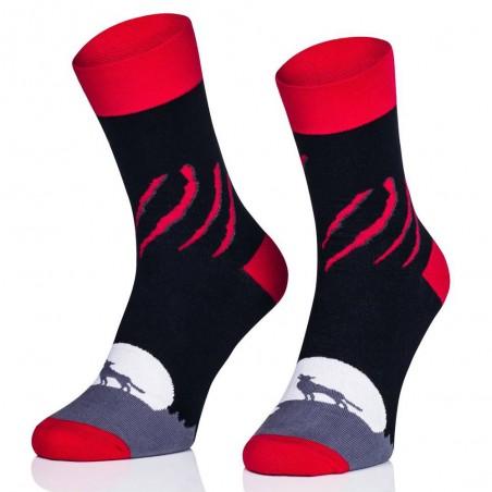 Ponožky Vlk v úplňku