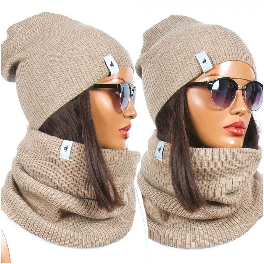 Zimní set Maria čepice a nákrčník