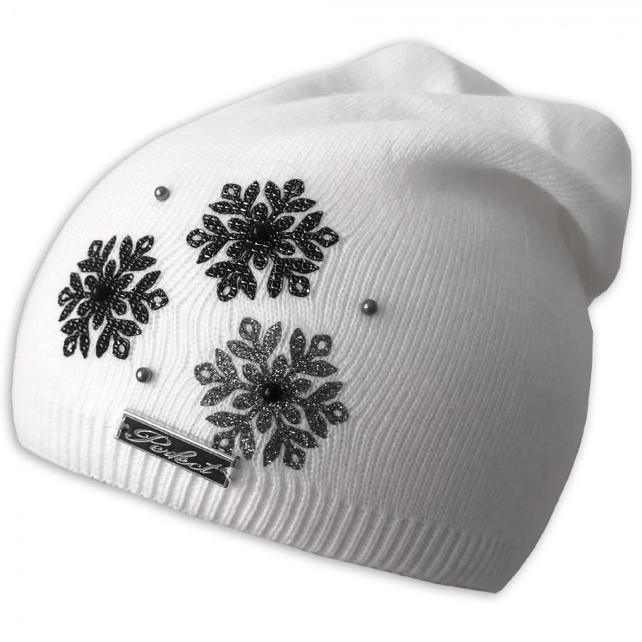 Zimní čepice Perfect Vločky