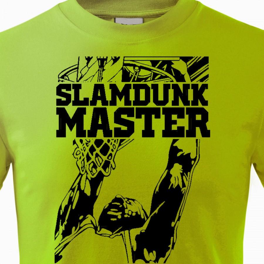 Tričko Basketbal Slamdunk Master