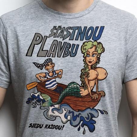 Vodácké tričko Šťastnou plavbu