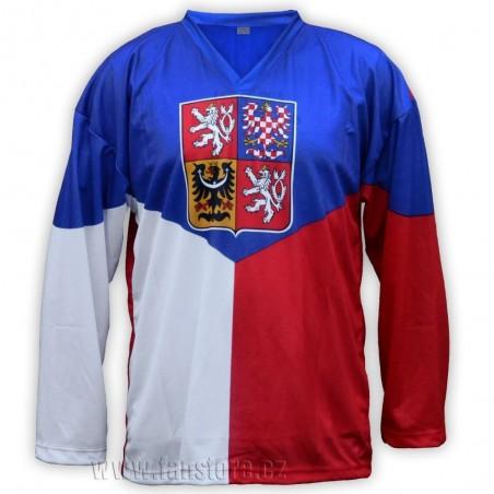 Hokejový dres ČR Vlajka