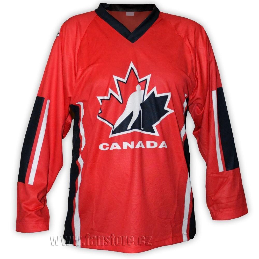 Hokejový dres Kanada - červený