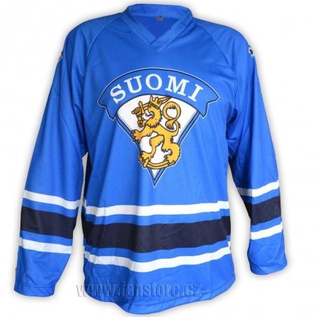 Hokejový dres Finsko - modrý