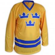 Hokejový dres Švédsko - žlutý