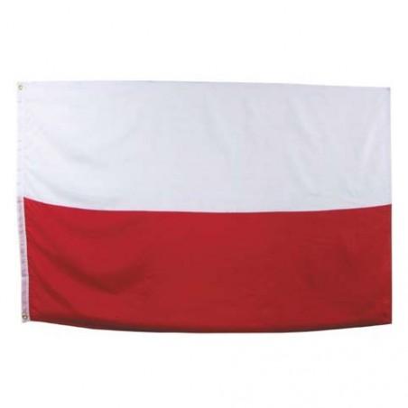 Vlajka Polsko velká