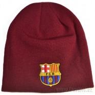 Zimná čiapka FC Barcelona vínová