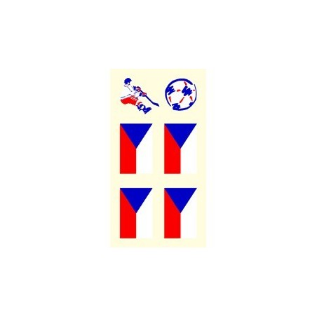 Tetovacie obtlačky Česko 81A