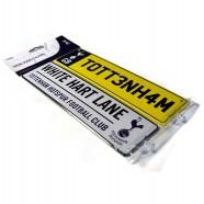Plechová cedulka Tottenham Hotspur, 2 ks