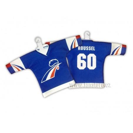 Minidres Francúzsko hokejový modrý