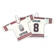 Hokejový minidres Lotyšsko