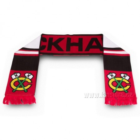 Šál Chicago Blackhawks líc