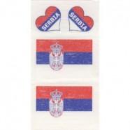 Tetovací obtisky Srbsko