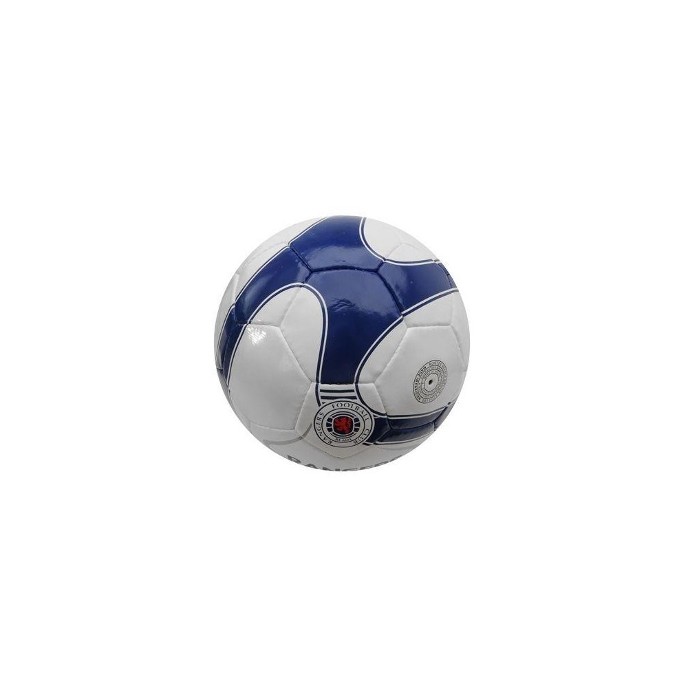 Futbalová lopta Glasgow Rangers rub
