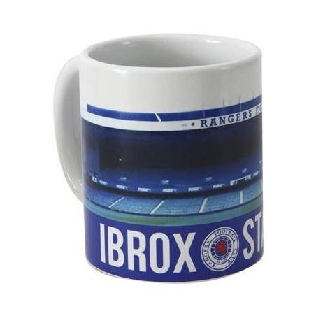 Hrnček Glasgow Rangers štadión