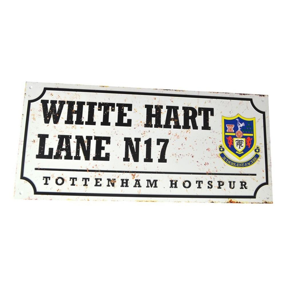 Plechová retro ceduľa Tottenham Hotspur