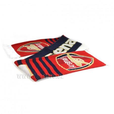 Šál Arsenal FC s pruhmi