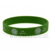 Náramek Celtic Glasgow silikonový