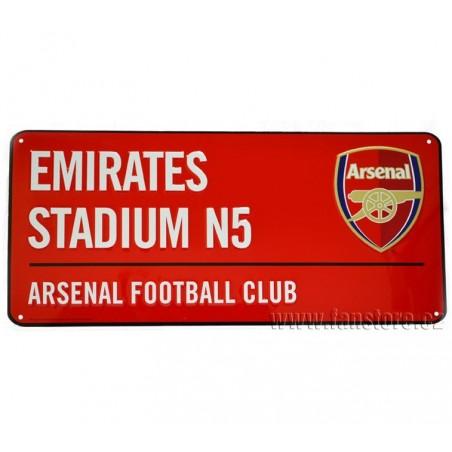 Plechová ceduľa Arsenal FC veľká
