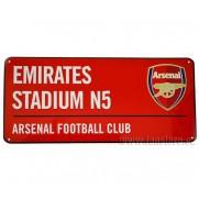 Plechová cedule Arsenal FC velká