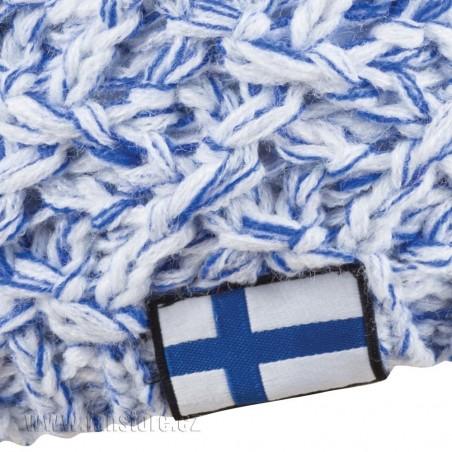 Zimná čiapka Patriot Fínsko, detail