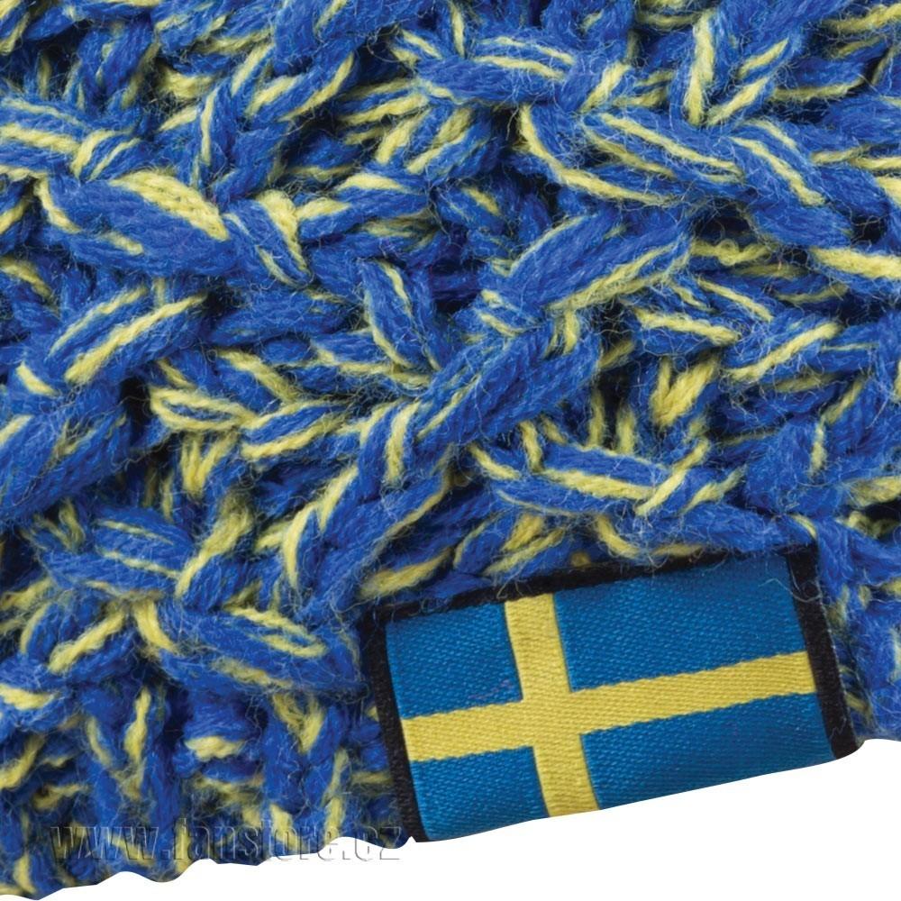 Zimná čiapka Patriot Švédsko, detail