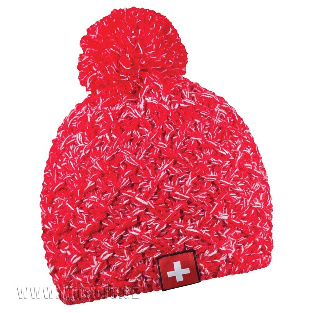 Zimní čepice Patriot Švýcarsko