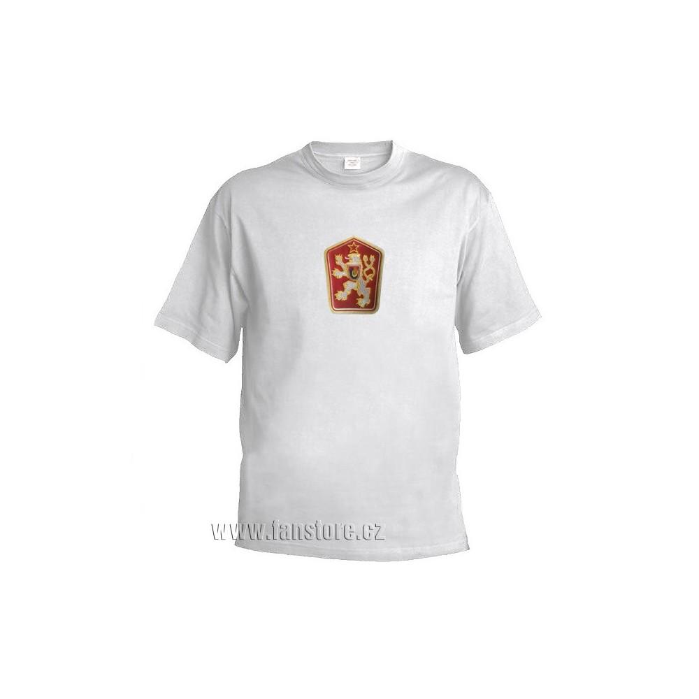 Retro tričko ČSSR bílé a901dde2a5