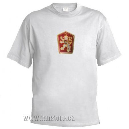 Retro tričko ČSSR bílé