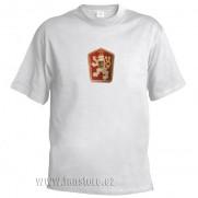 Retro tričko ČSSR biele
