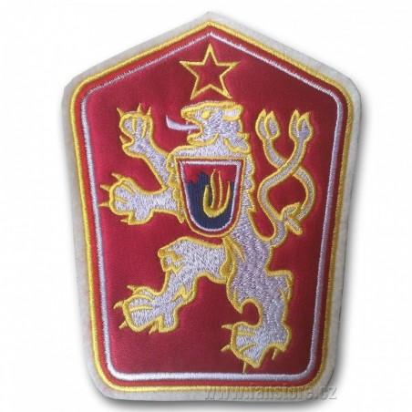 Nášivka státní znak ČSSR