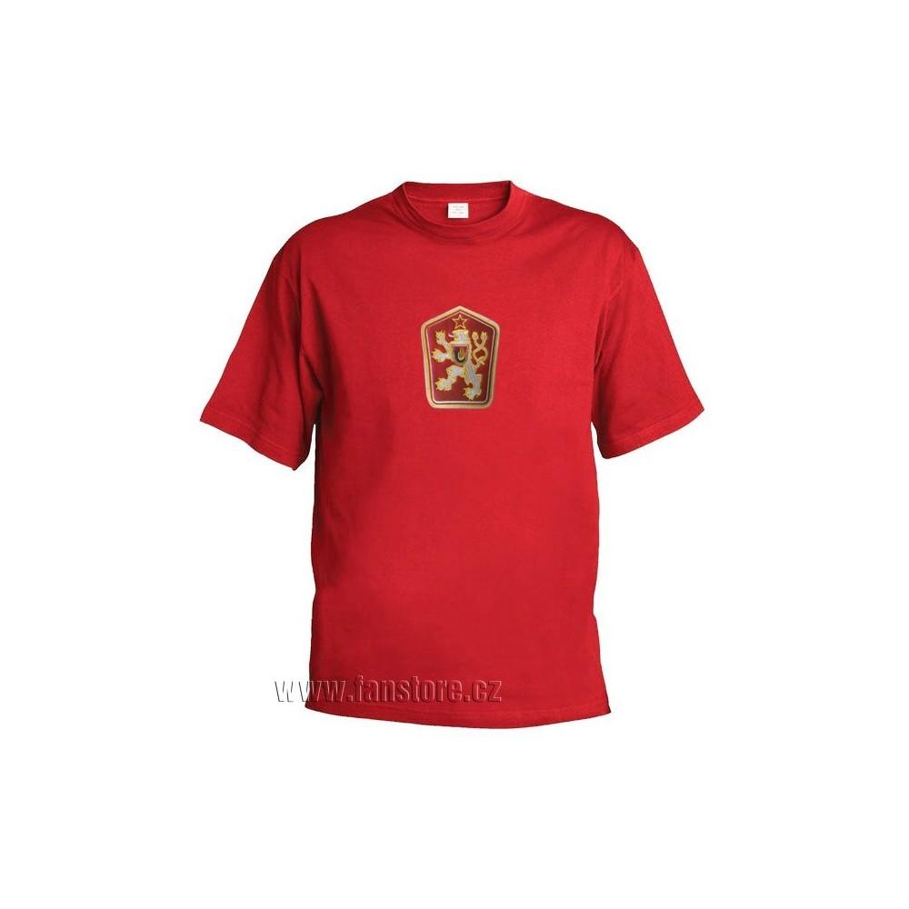 Retro tričko ČSSR červené bee9bbe6da