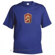Retro tričko ČSSR modré
