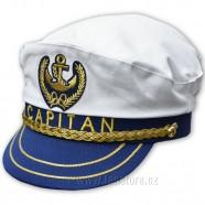Kapitánská čepice - bok