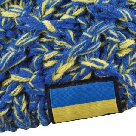 Zimná čiapka Patriot Ukrajina, detail