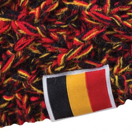 Zimná čiapka Patriot Belgicko, detail