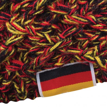 Zimná čiapka Patriot Nemecko, detail