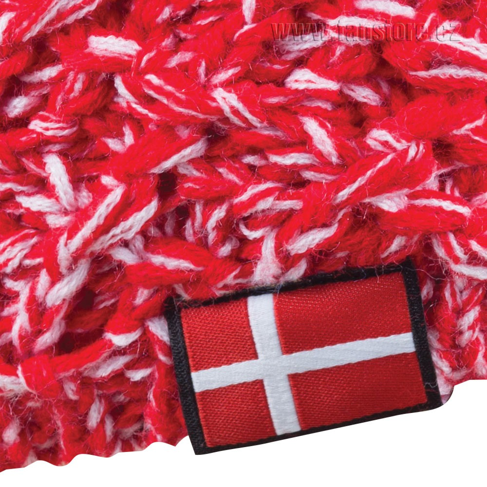 Zimná čiapka Patriot Dánsko, detail