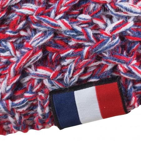 Zimná čiapka Patriot Francúzsko, detail
