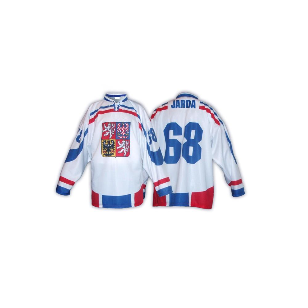 9c56fc95014 Hokejový dres ČR bílý