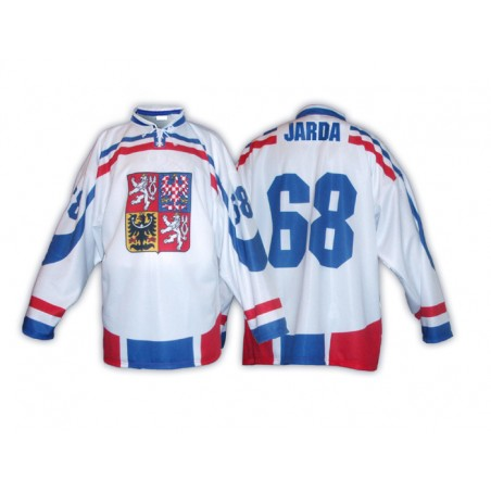 Hokejový dres ČR bílý