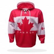 Mikina Kanada červená