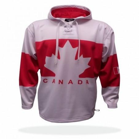 Mikina Kanada bílá