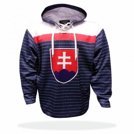 Mikina Slovensko modrá