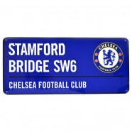 Plechová cedule Chelsea FC veľká