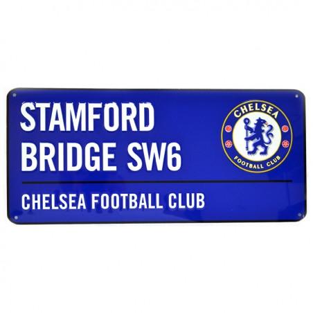 Plechová cedule Chelsea FC velká