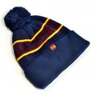 Zimní čepice FC Barcelona rub
