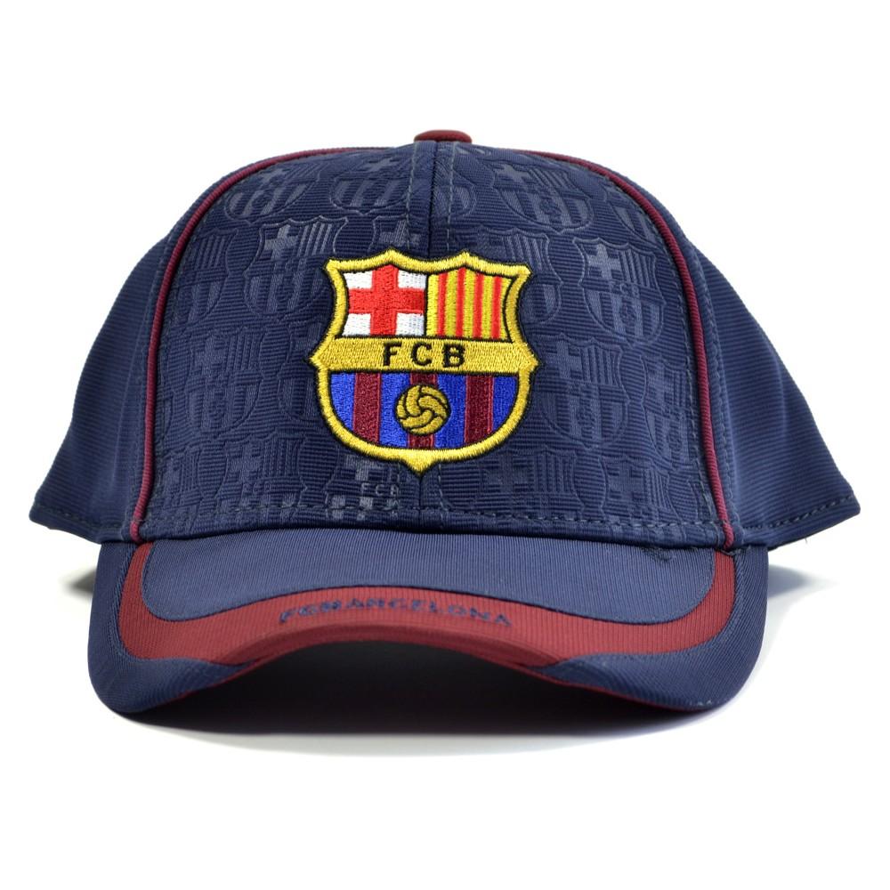 Kšiltovka FC Barcelona Debossed Cap